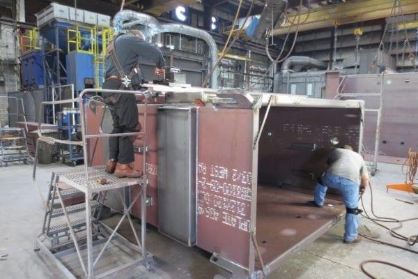 Transformer Tank Fabrication Welding