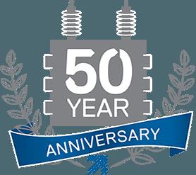 50 year anniversay logo