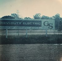 Old HeviDuty Electric Sign