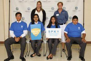 SPX and Cristo Rey Jesuit students
