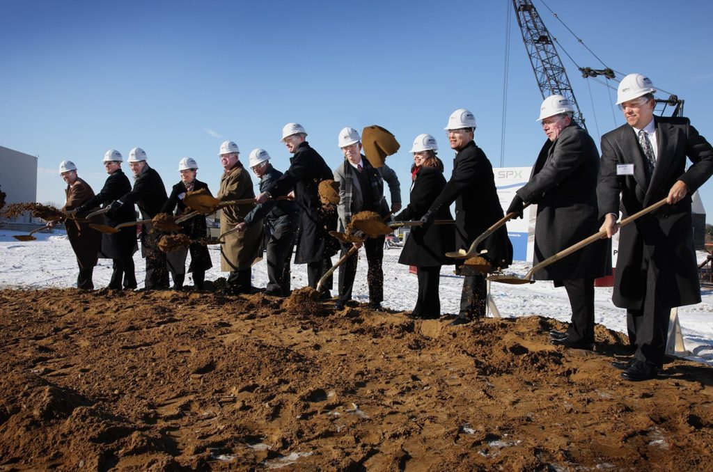 ​​Large Power Facility Breaks Ground