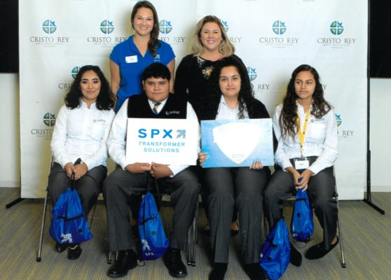 SPX TRANSFORMER SOLUTIONS AND CRISTO REY JESUIT HIGH SCHOOL PARTNER UP
