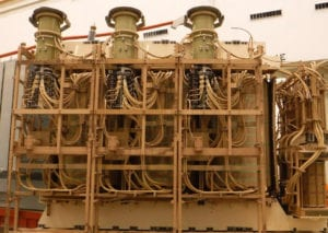 LARGE POWER TRANSFORMER INTERNALS