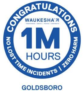 1 Million Safe Man Hours spxts goldsboro